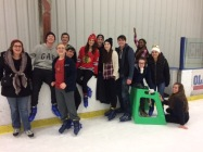 Broomball on Ice