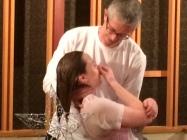 Caylor's baptism
