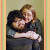 Rachel (with husband, Noel)
